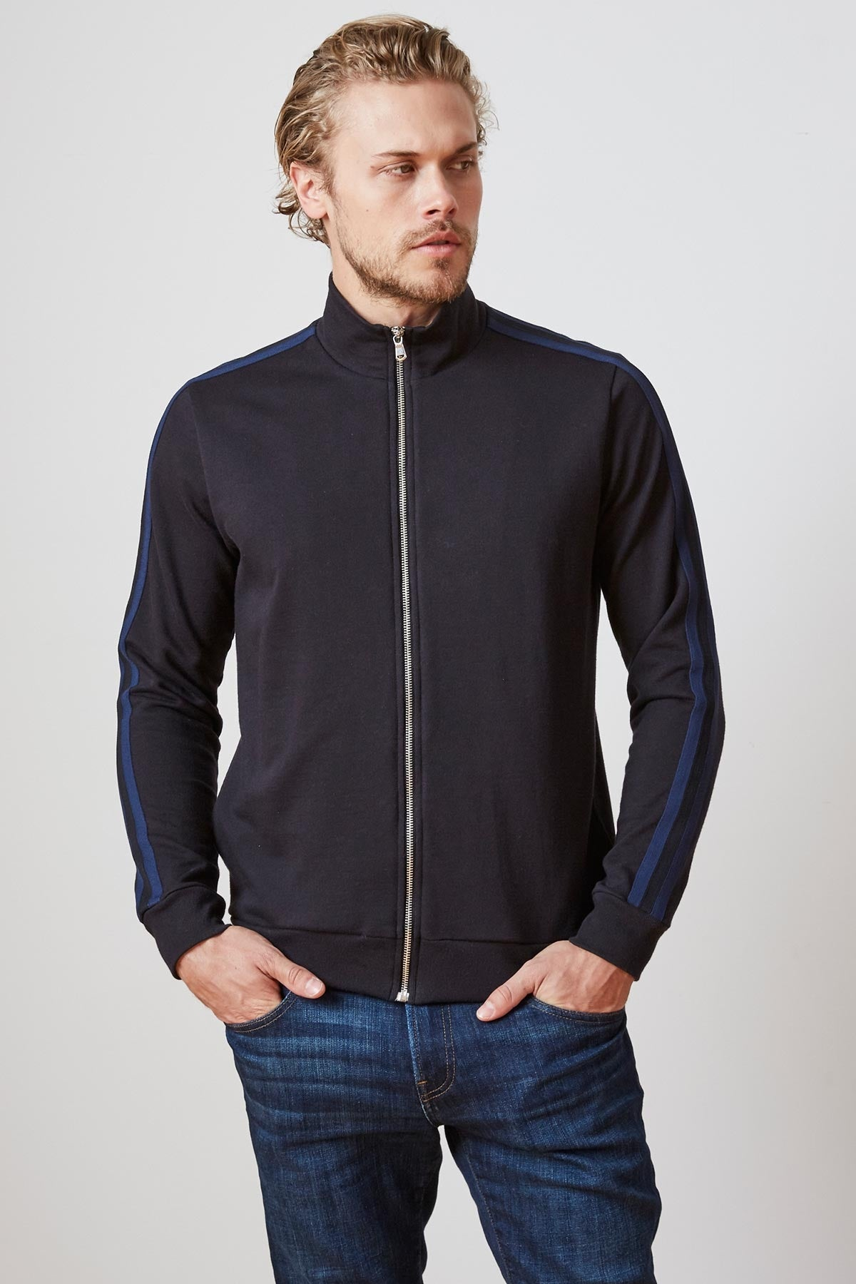 ESTEBAN FRENCH TERRY TRACK JACKET