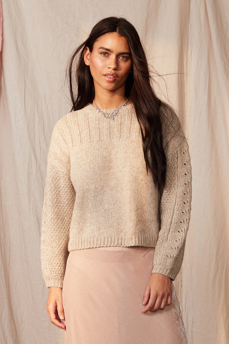 MAREE CREW NECK SWEATER