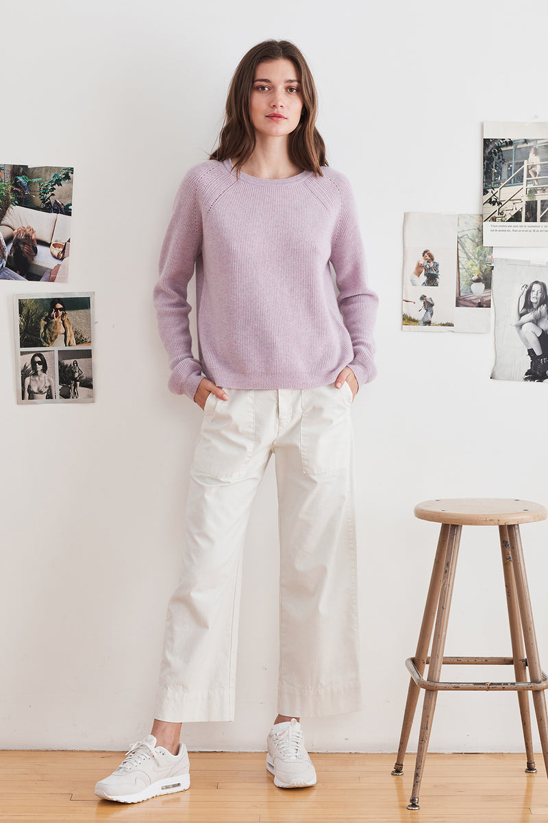 DORA CASHMERE CREW NECK SWEATER
