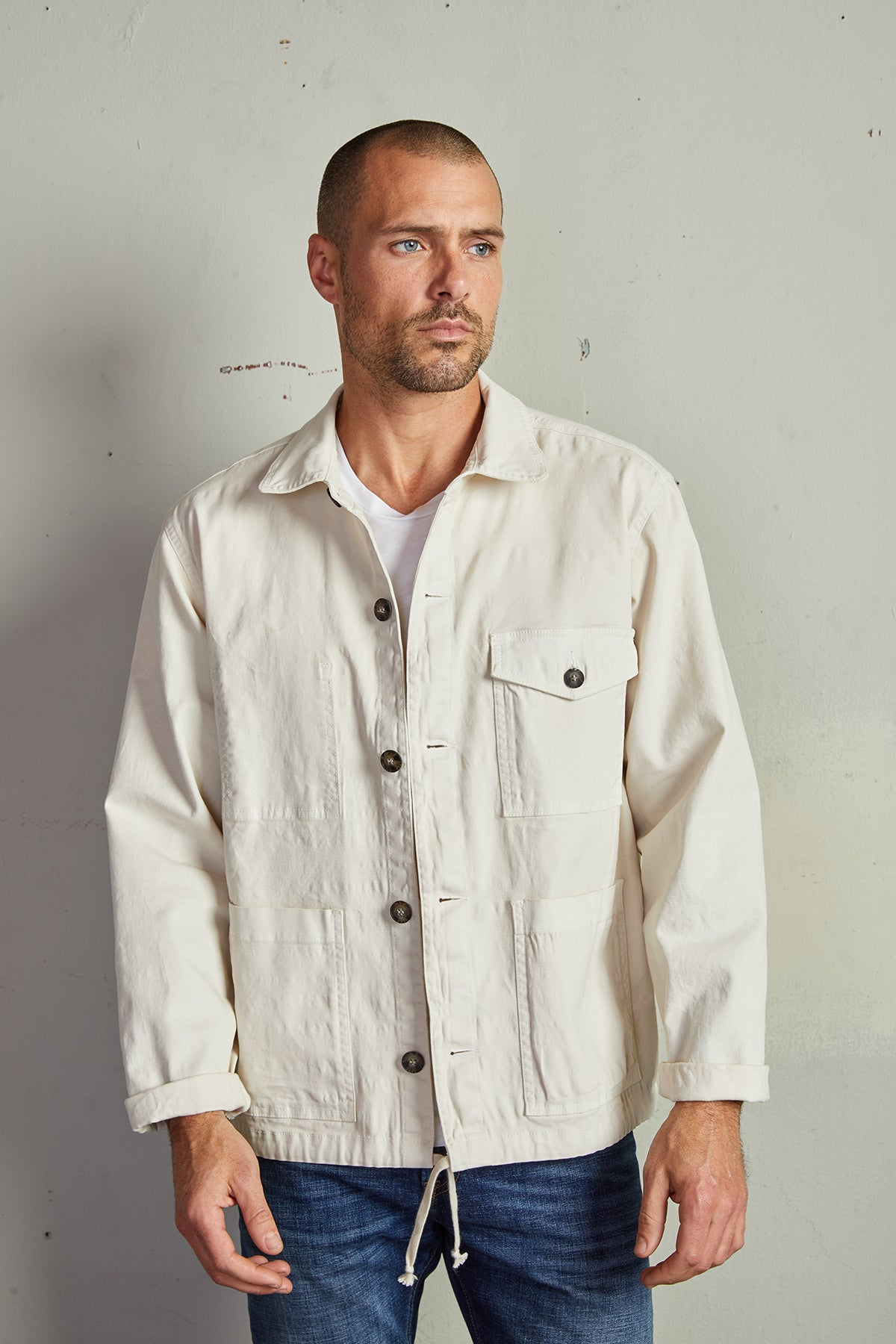 JAMES COTTON CANVAS JACKET