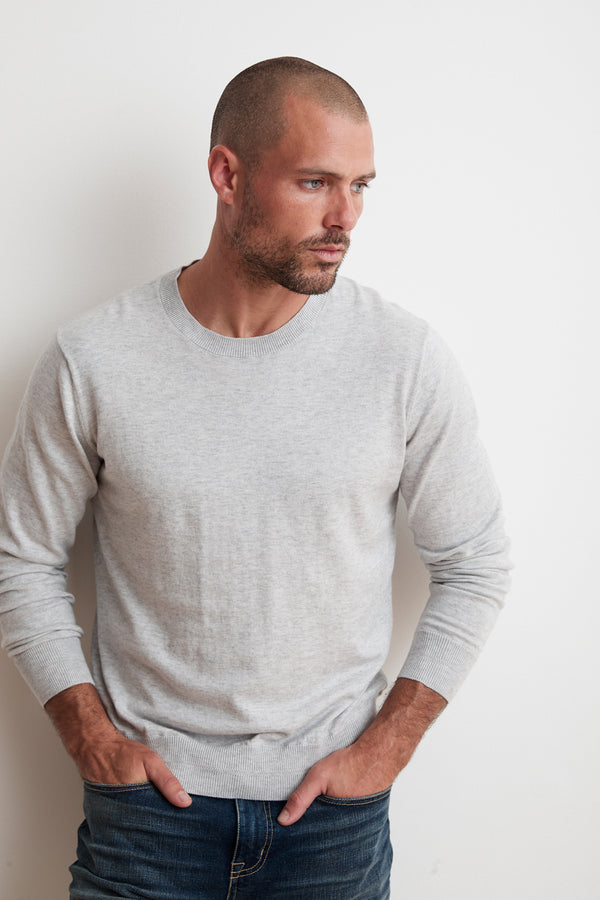 FRED COTTON CASHMERE LIGHTWEIGHT SWEATER