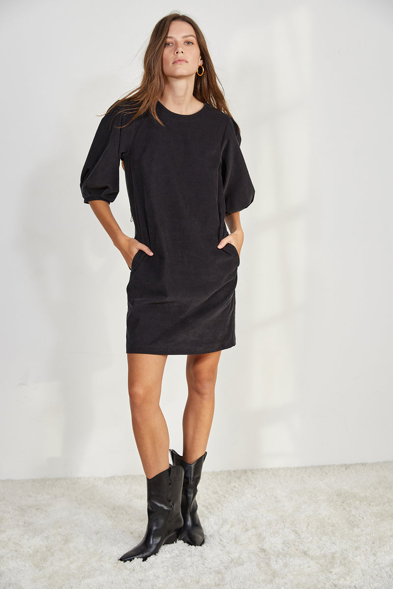 ZINA CORDUROY DRESS