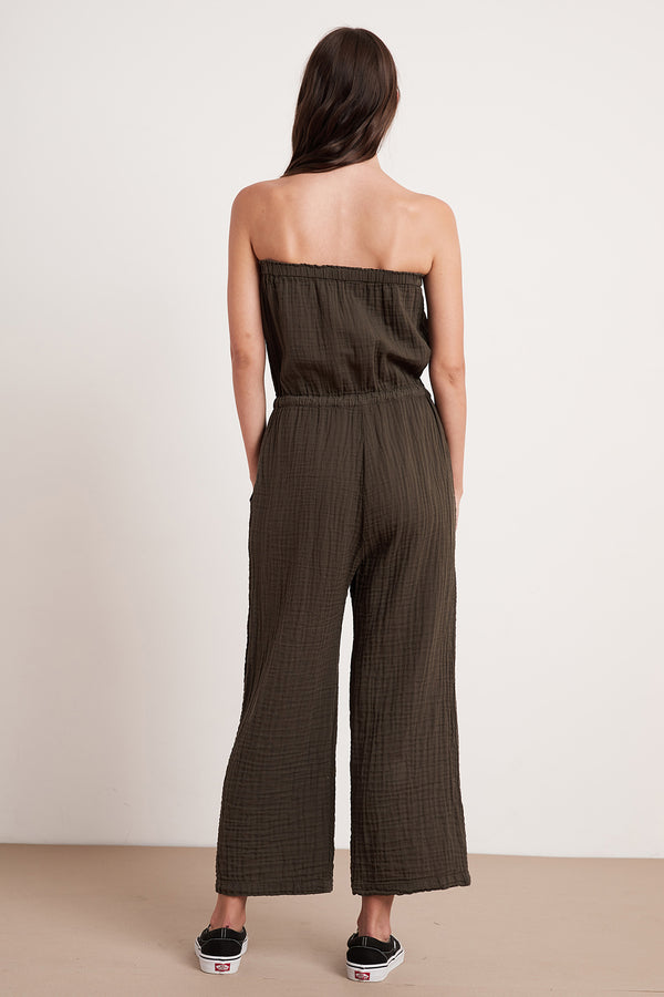 GEORGIE COTTON GAUZE JUMPSUIT