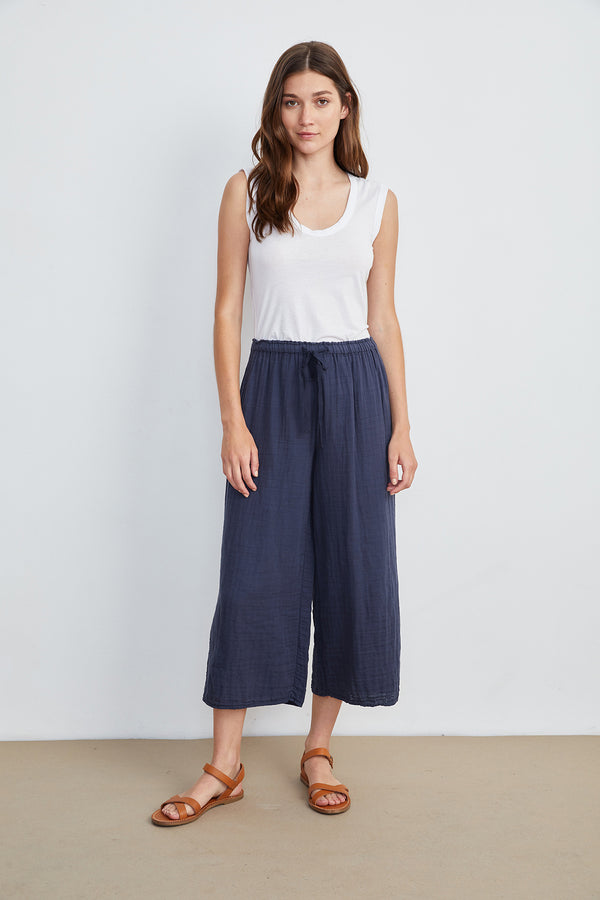 NYLEEN COTTON GAUZE PANT