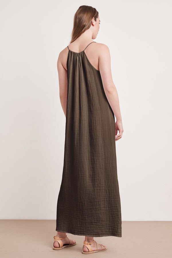 SONYA COTTON GAUZE MAXI DRESS