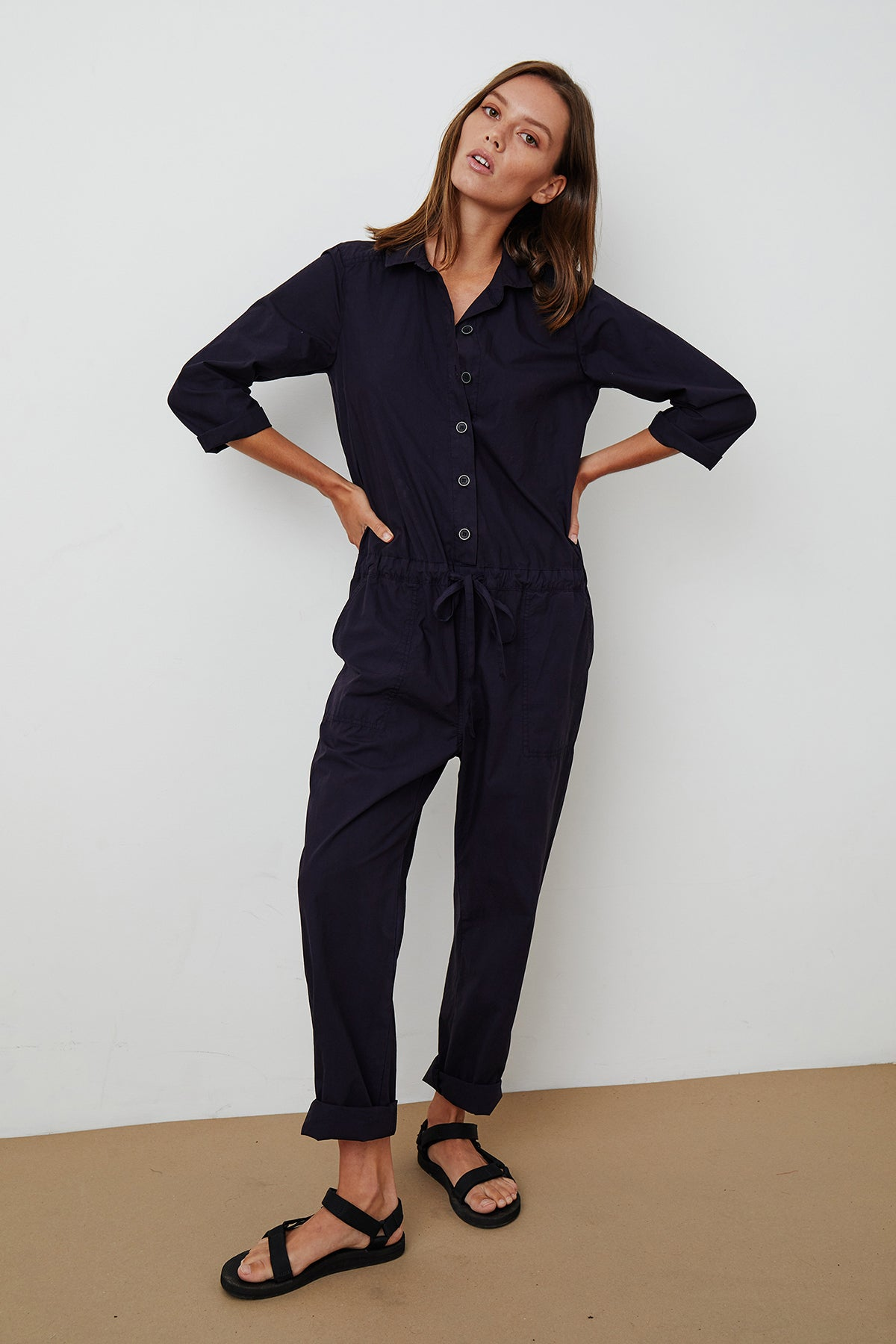 Saylor Jumpsuit Ink Front