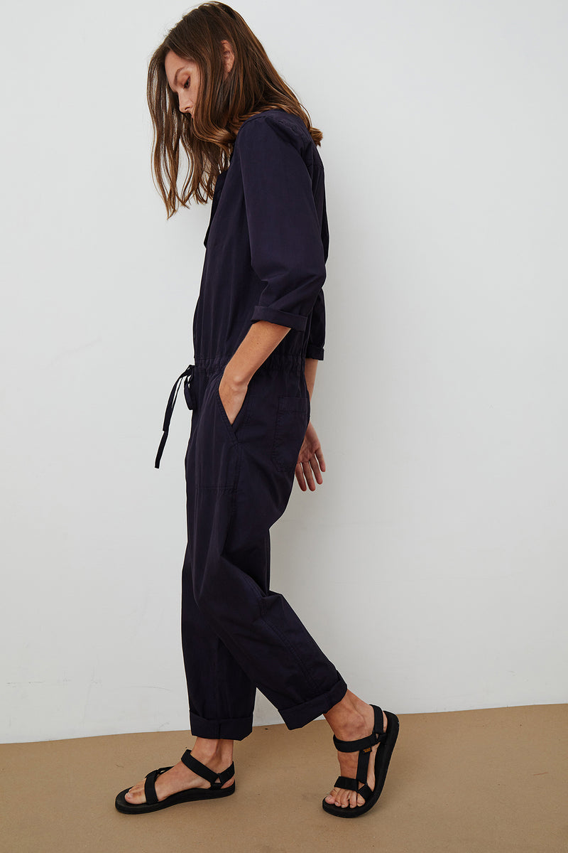 Saylor Jumpsuit Ink Side