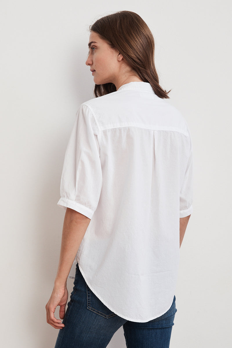 LAURA RELAXED BUTTON-UP SHIRT