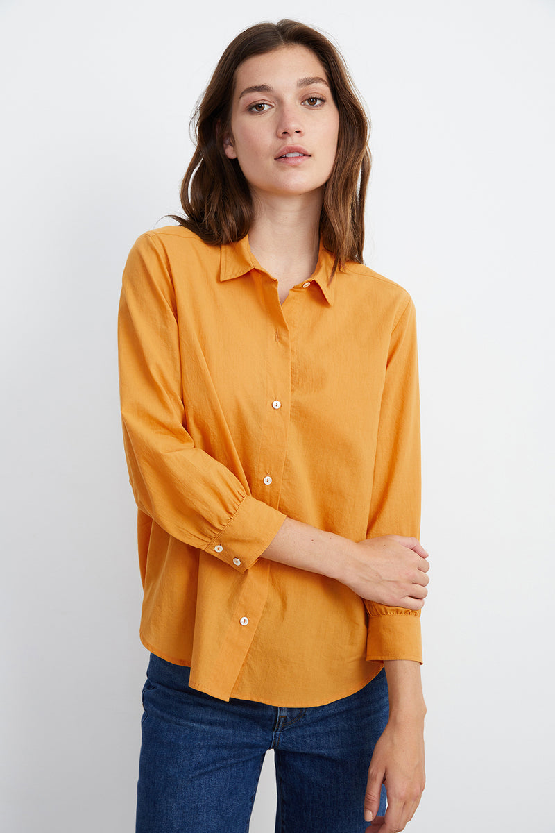 RAYMEE BUTTON-UP SHIRT