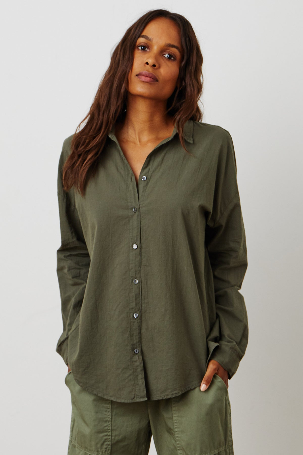 Devyn Shirt Thicket Front