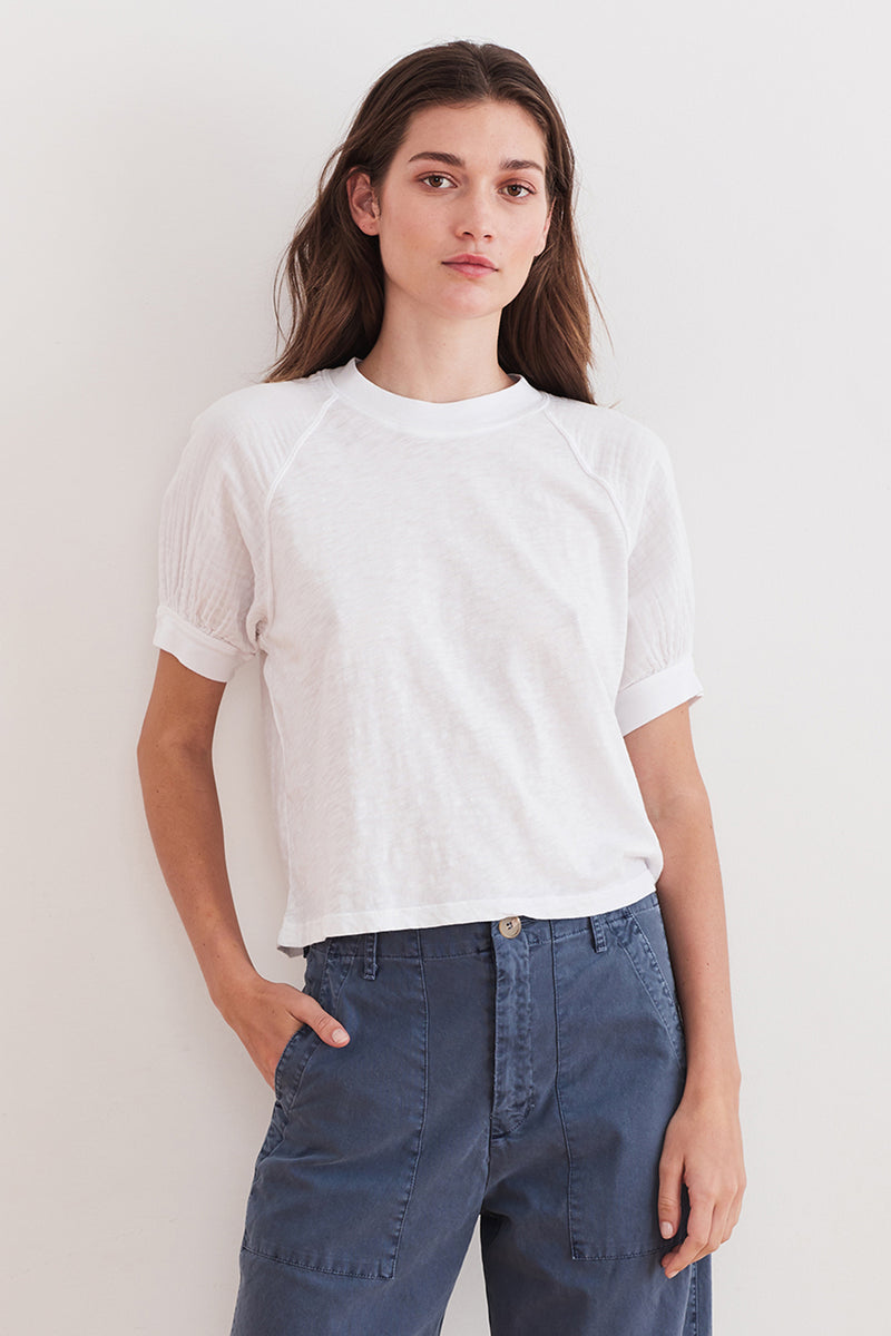 STILA PUFF SLEEVE TEE