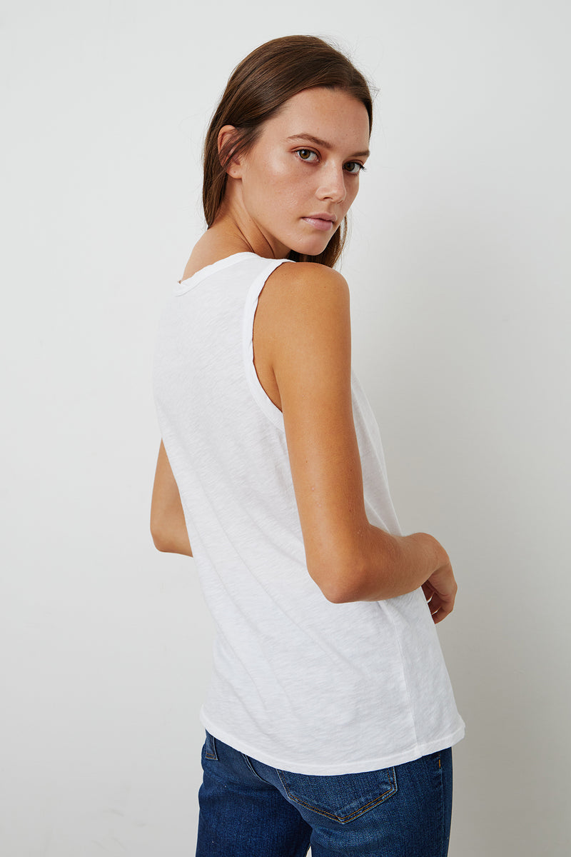 TAURUS COTTON SLUB TANK