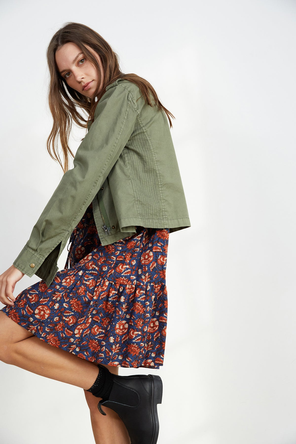 DIXIE CROPPED ARMY JACKET