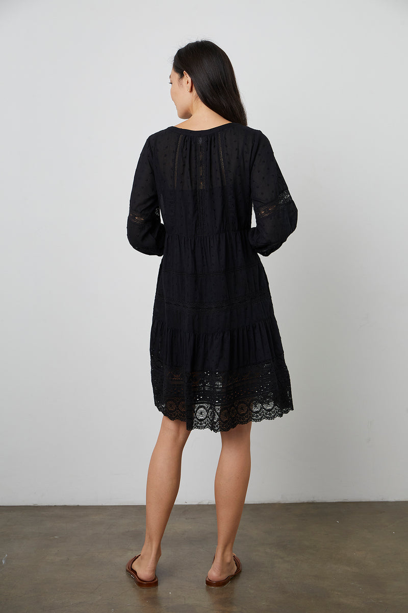 Dorothy Dress Black Back
