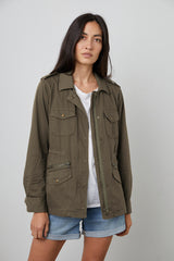 RUBY LIGHT-WEIGHT ARMY JACKET