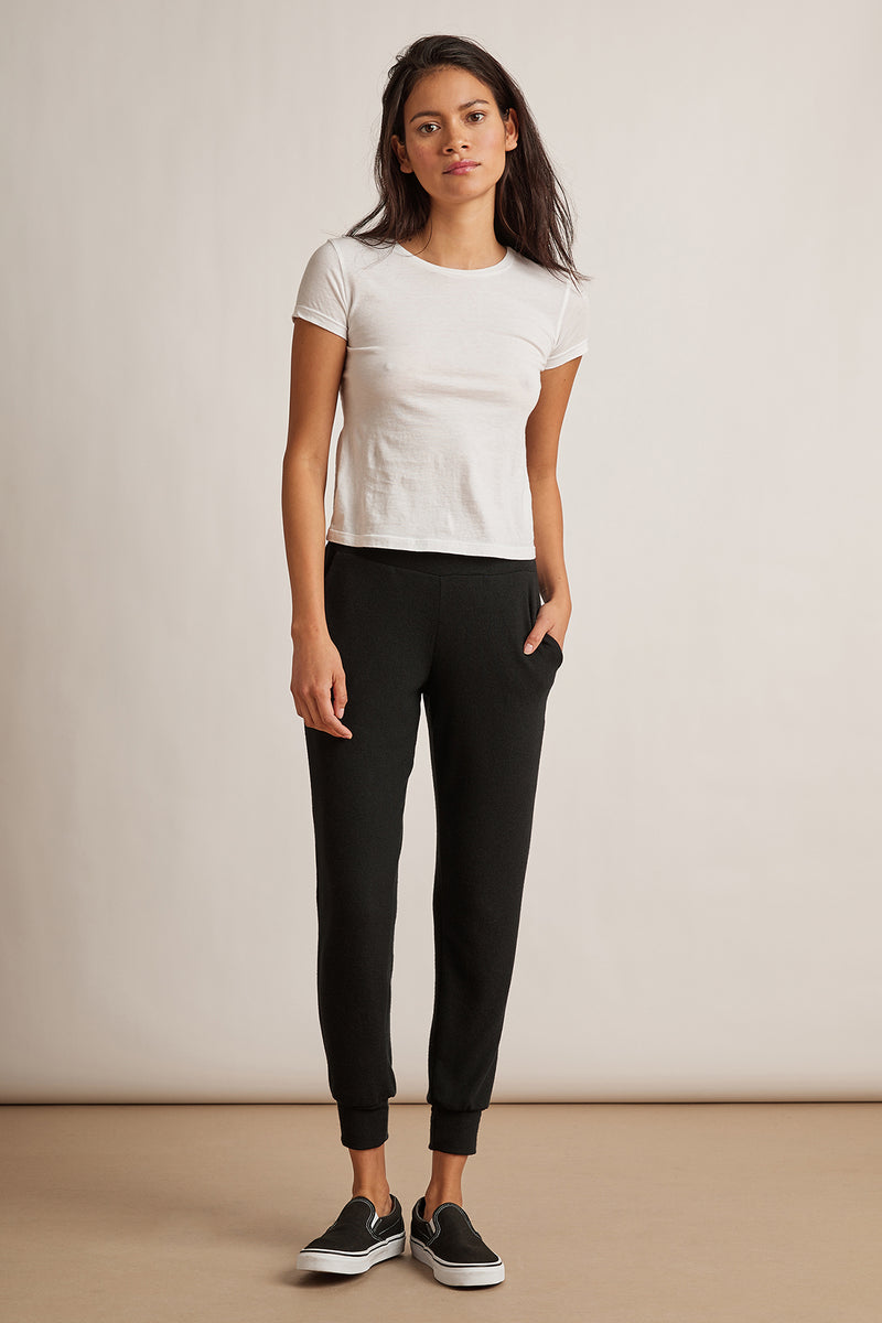 BLAKELY COZY JERSEY CUFFED JOGGER