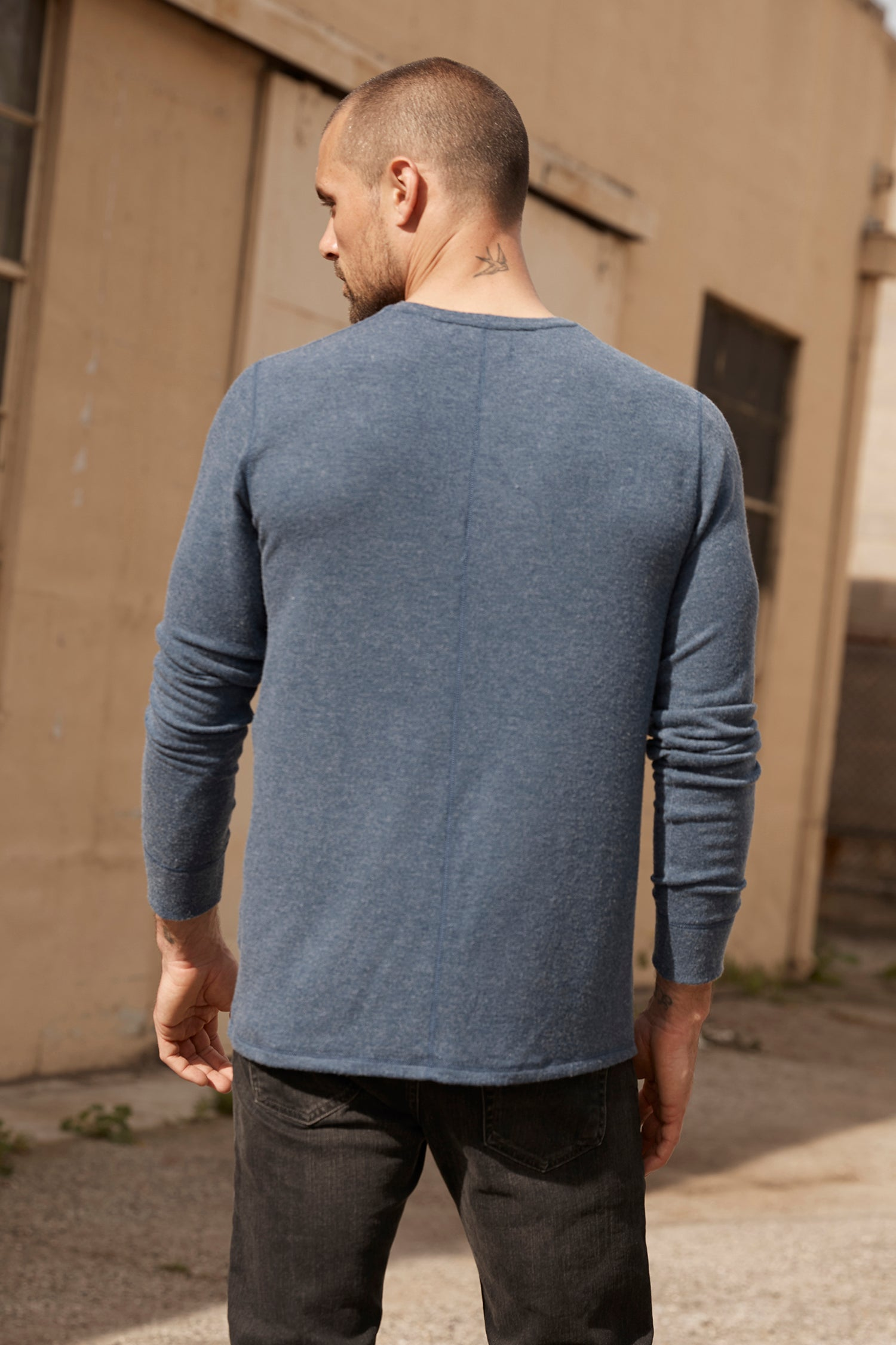 FAUST MARLED COZY JERSEY HENLEY