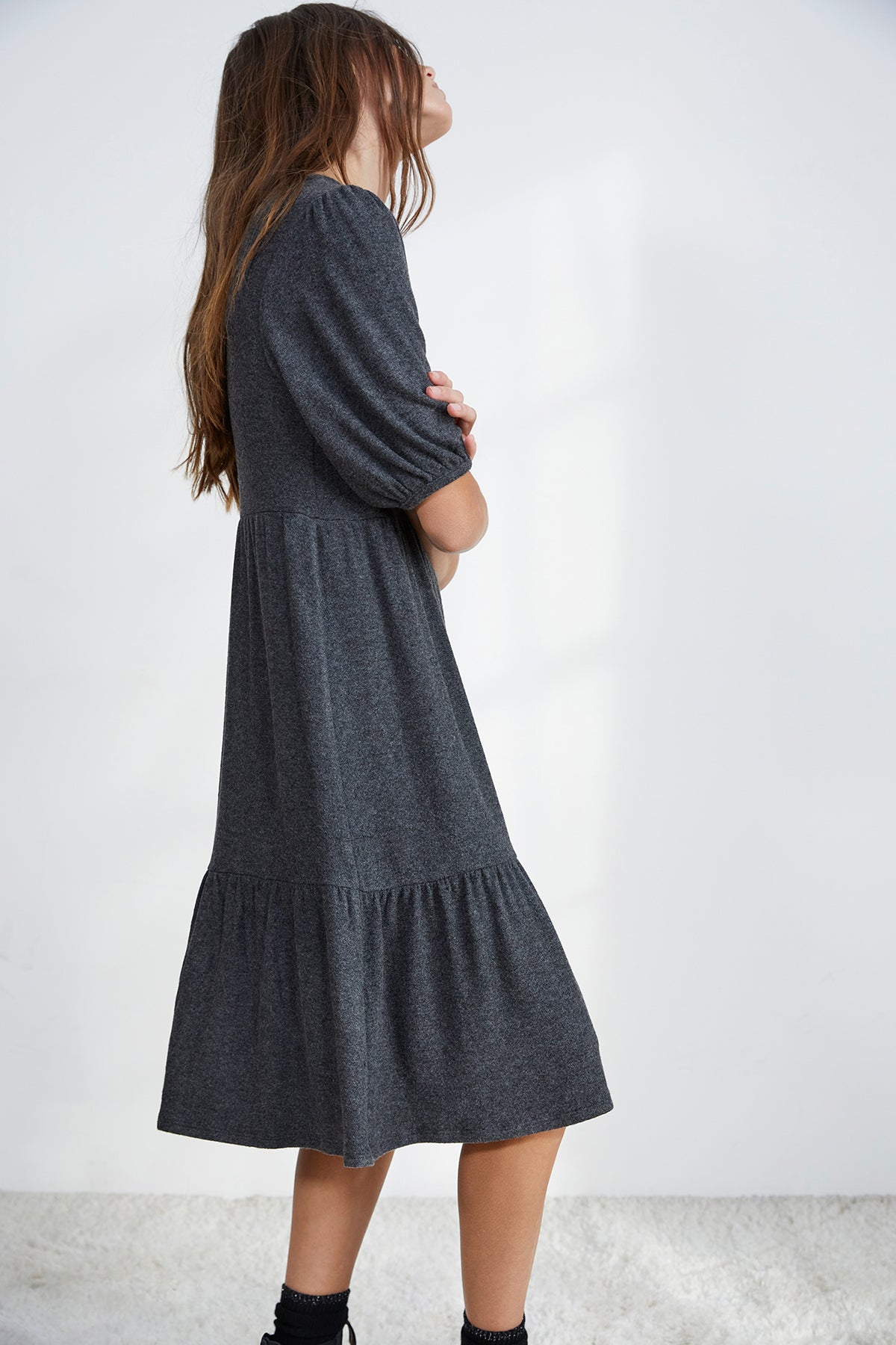 BRIE PUFF SLEEVE DRESS