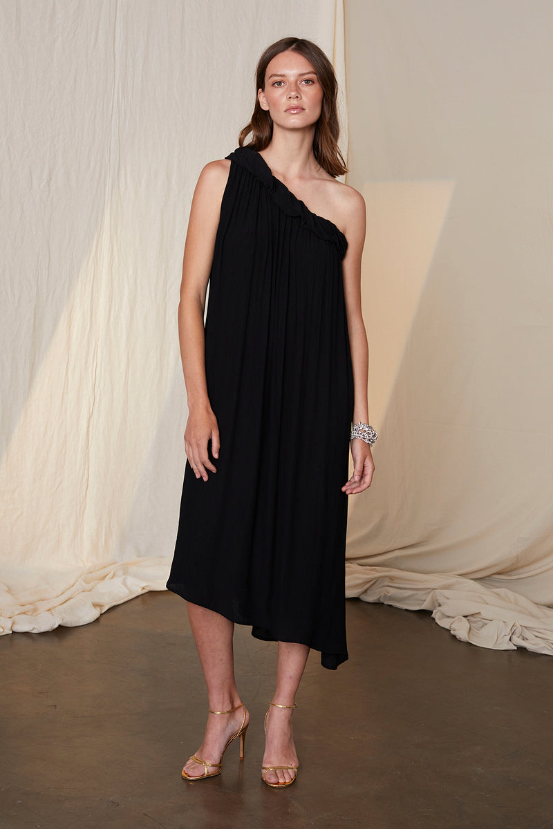 PORTIA ASSYMETRICAL DRESS