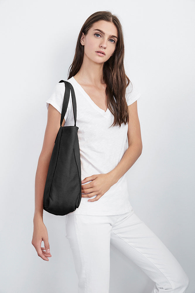 BREE LEATHER TOTE