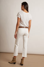 TWIGGY HIGH RISE CROP JEAN