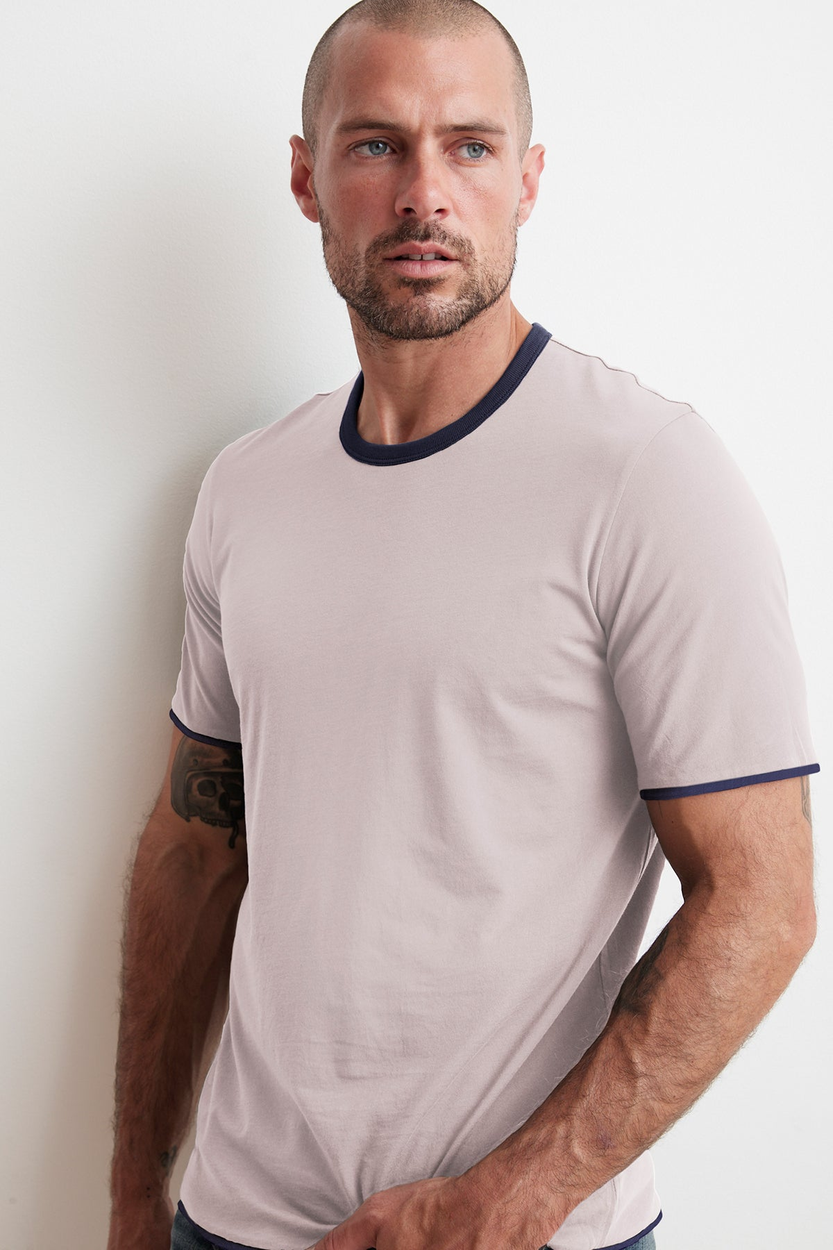 ELIJAH REVERSIBLE DOUBLE LAYER TEE