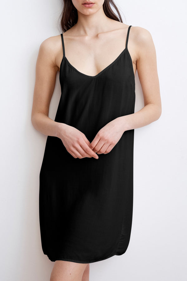 ELVIE RAYON CHALLIS SLIP DRESS