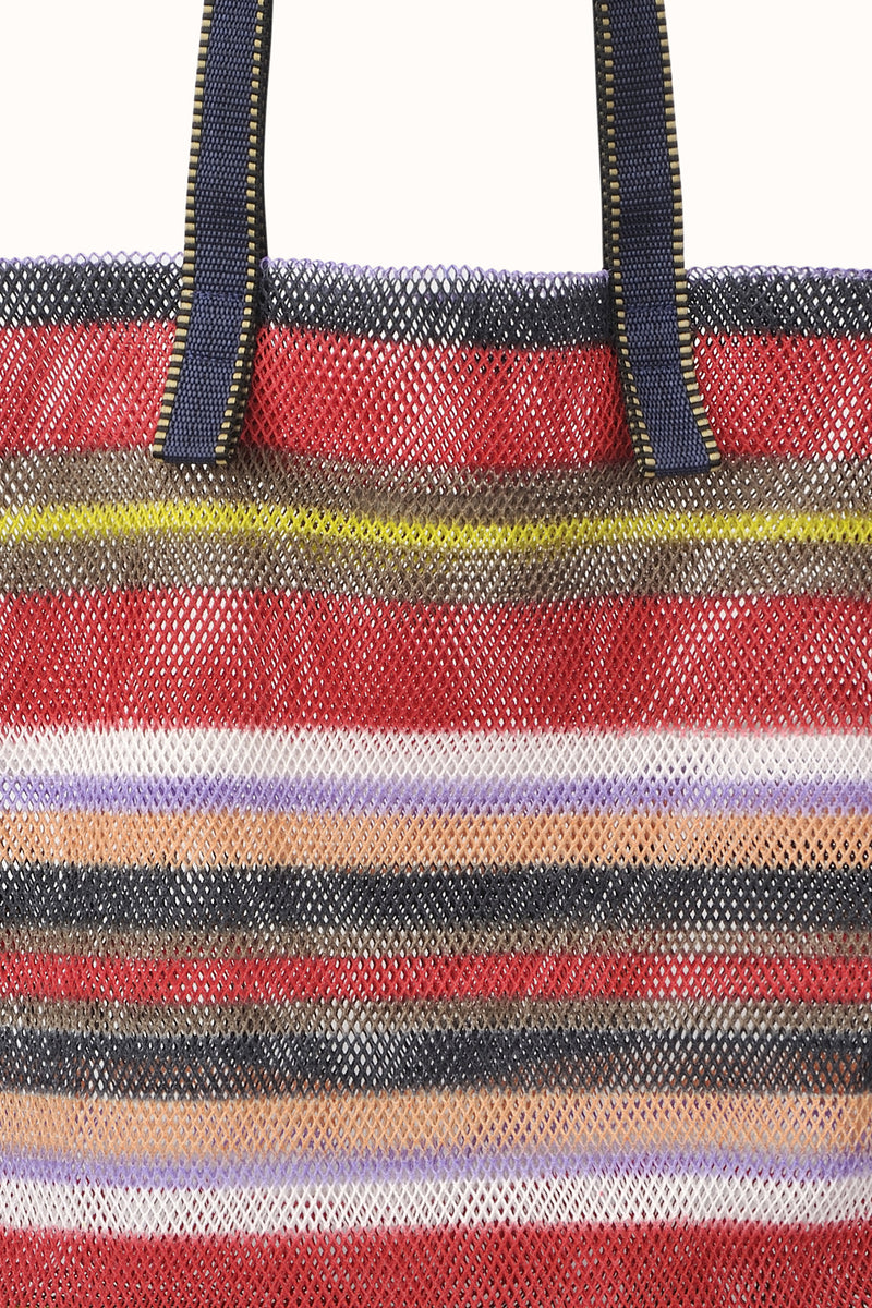 Large Mesh Tote by Epice Rouge Detail