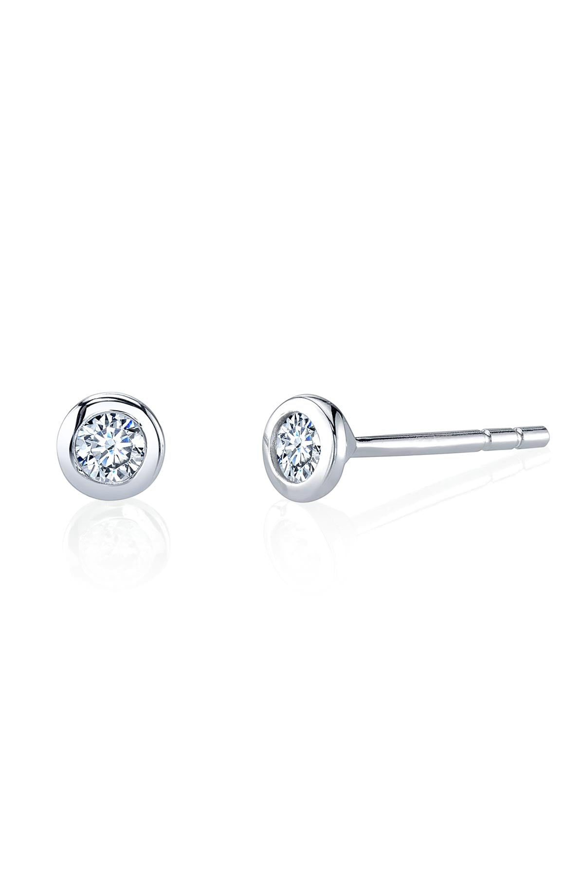 SIMPLE STUDS IN SILVER BY SLOAN