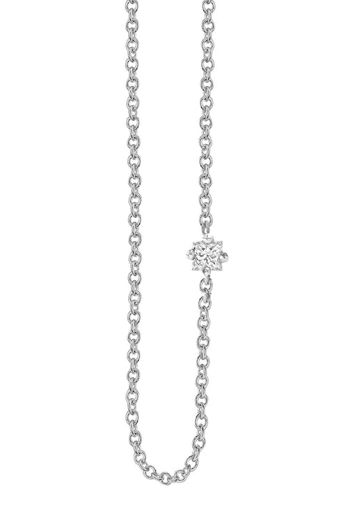 WHITE SAPPHIRE FLOATING NECKLACE BY SLOAN