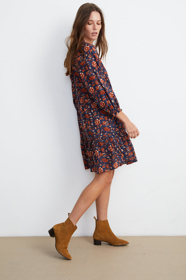 SHOSHANA PRINTED DRESS