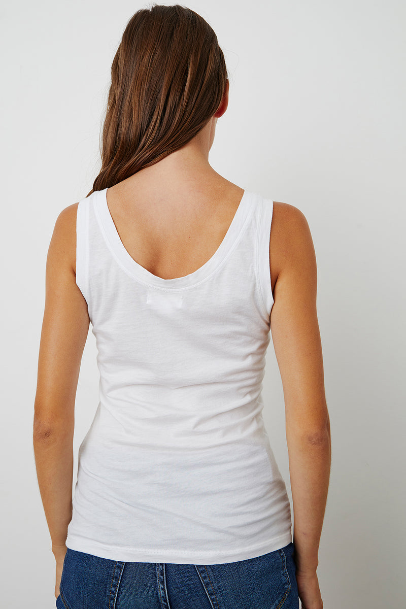 MOSSY GAUZY WHISPER FITTED TANK