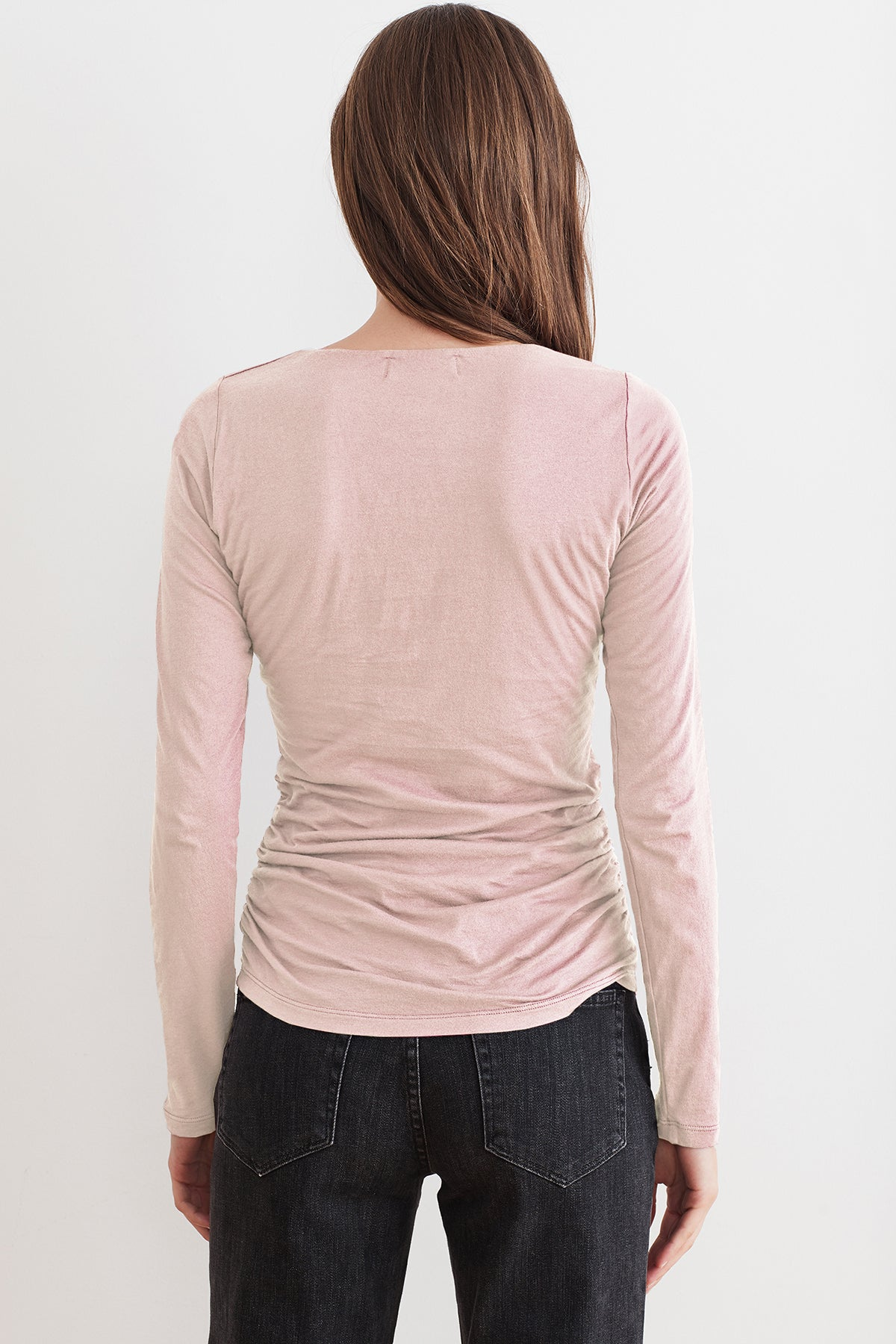 SELENA GAUZY WHISPER LONG SLEEVE TEE