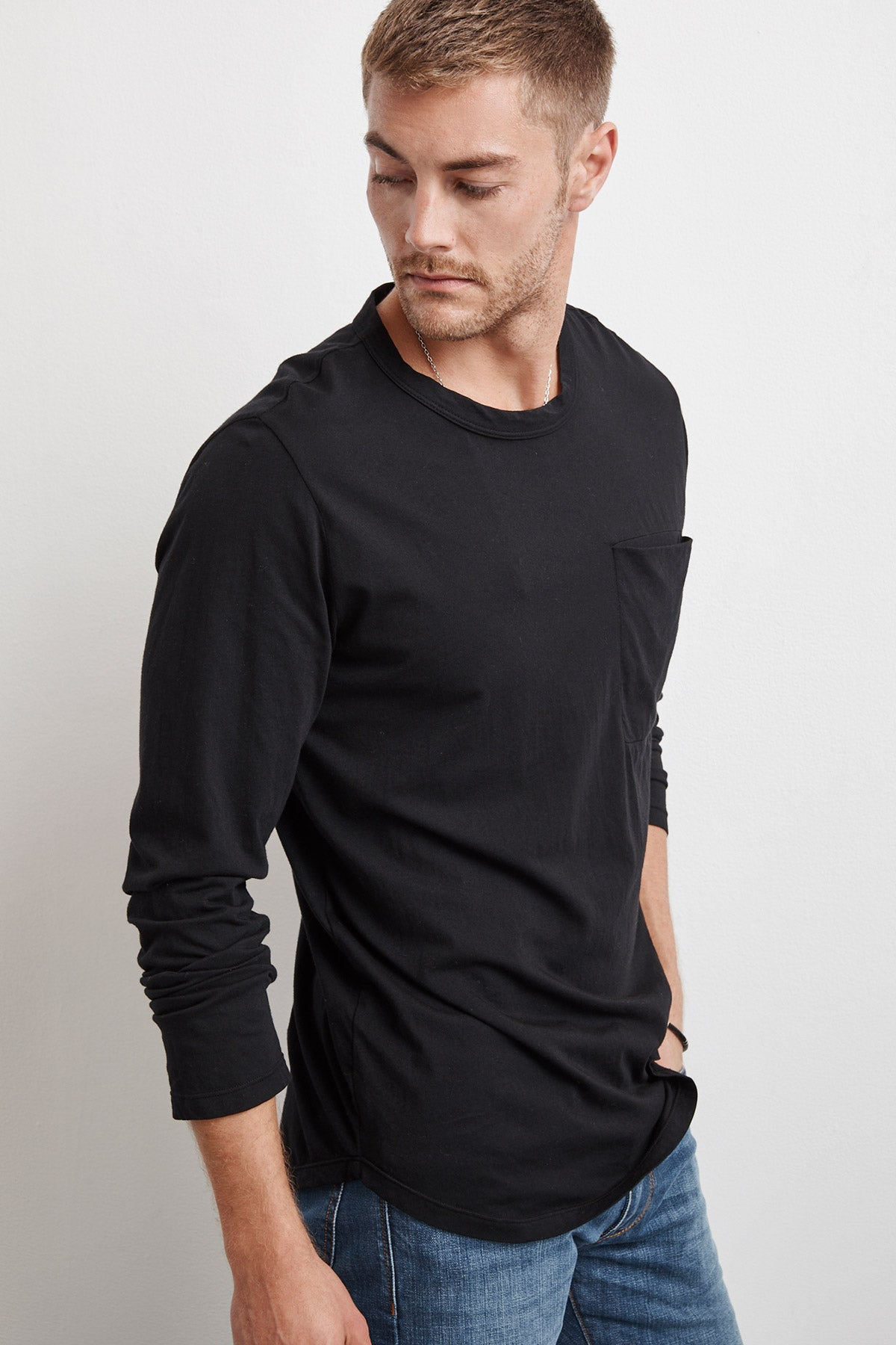 ARNIE LITTLE HAVANA WHISPER LONG SLEEVE TEE