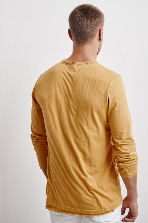 KENNITH DOUBLE LAYER WHISPER LONG SLEEVE TEE