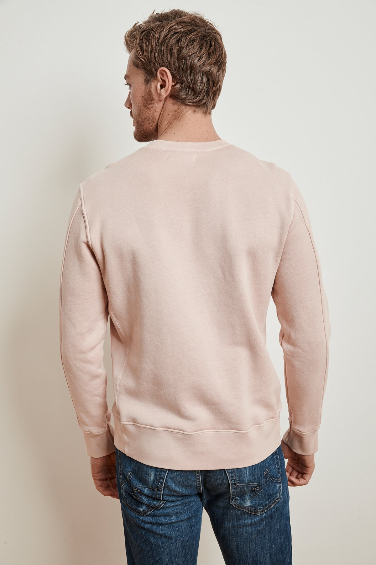 ARO HEAVY FLEECE CREW NECK PULLOVER