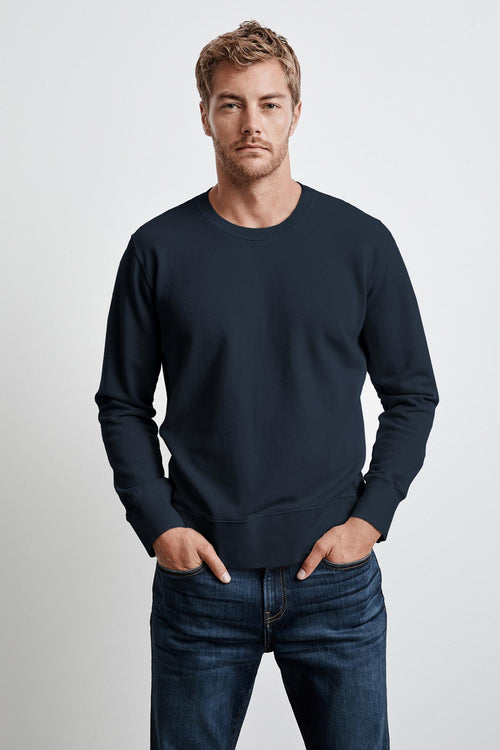 KANE VINTAGE FRENCH TERRY CREW NECK PULLOVER