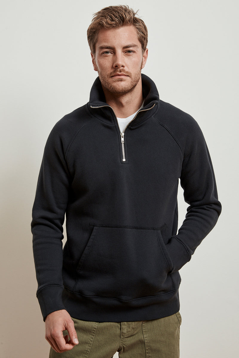 REDDINGTON HEAVY FLEECE HALF ZIP PULLOVER