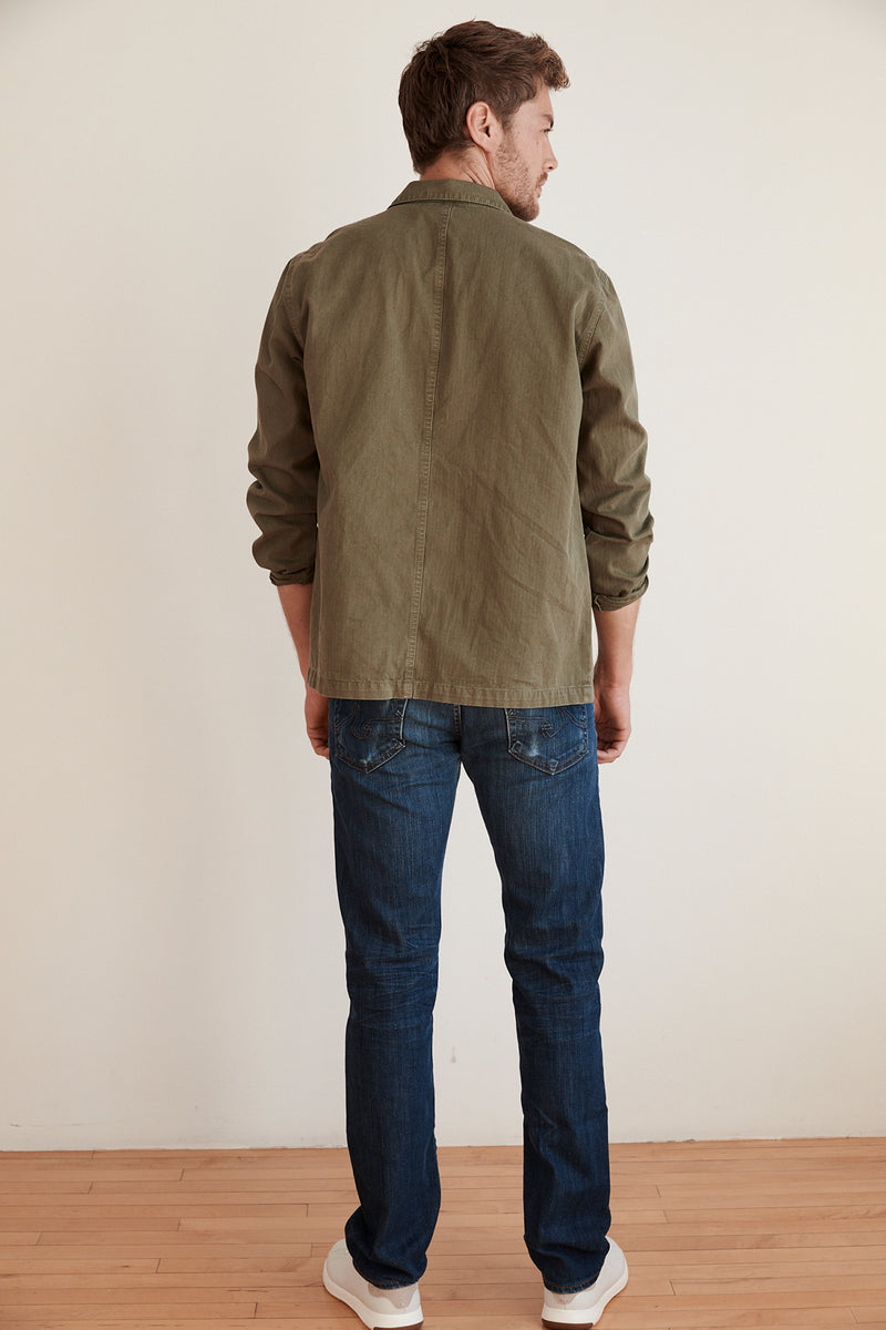 OTTO COTTON CANVAS PAINTERS JACKET