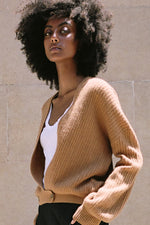 BAILEY CASHMERE DEEP V CARDIGAN