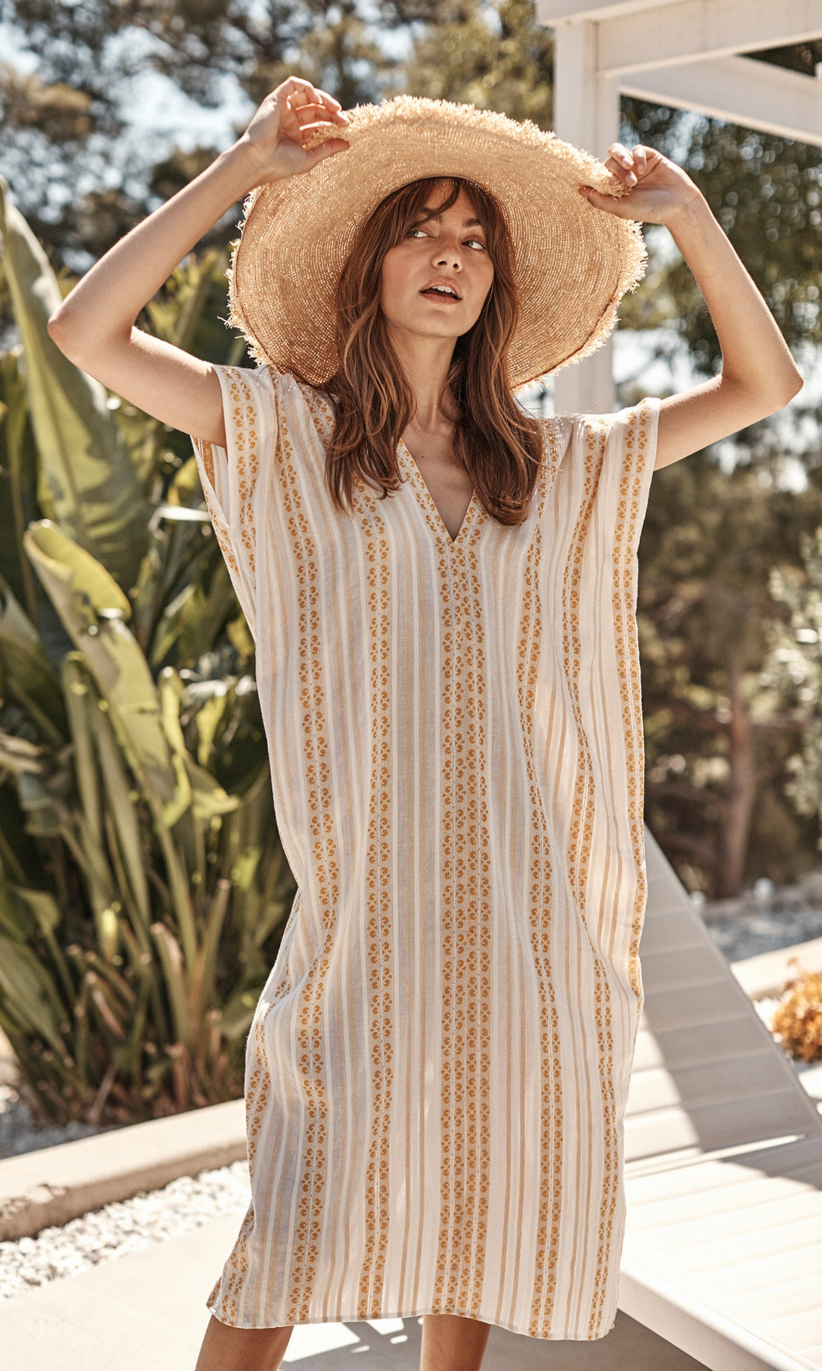 BEVERLY STRAW SUN HAT