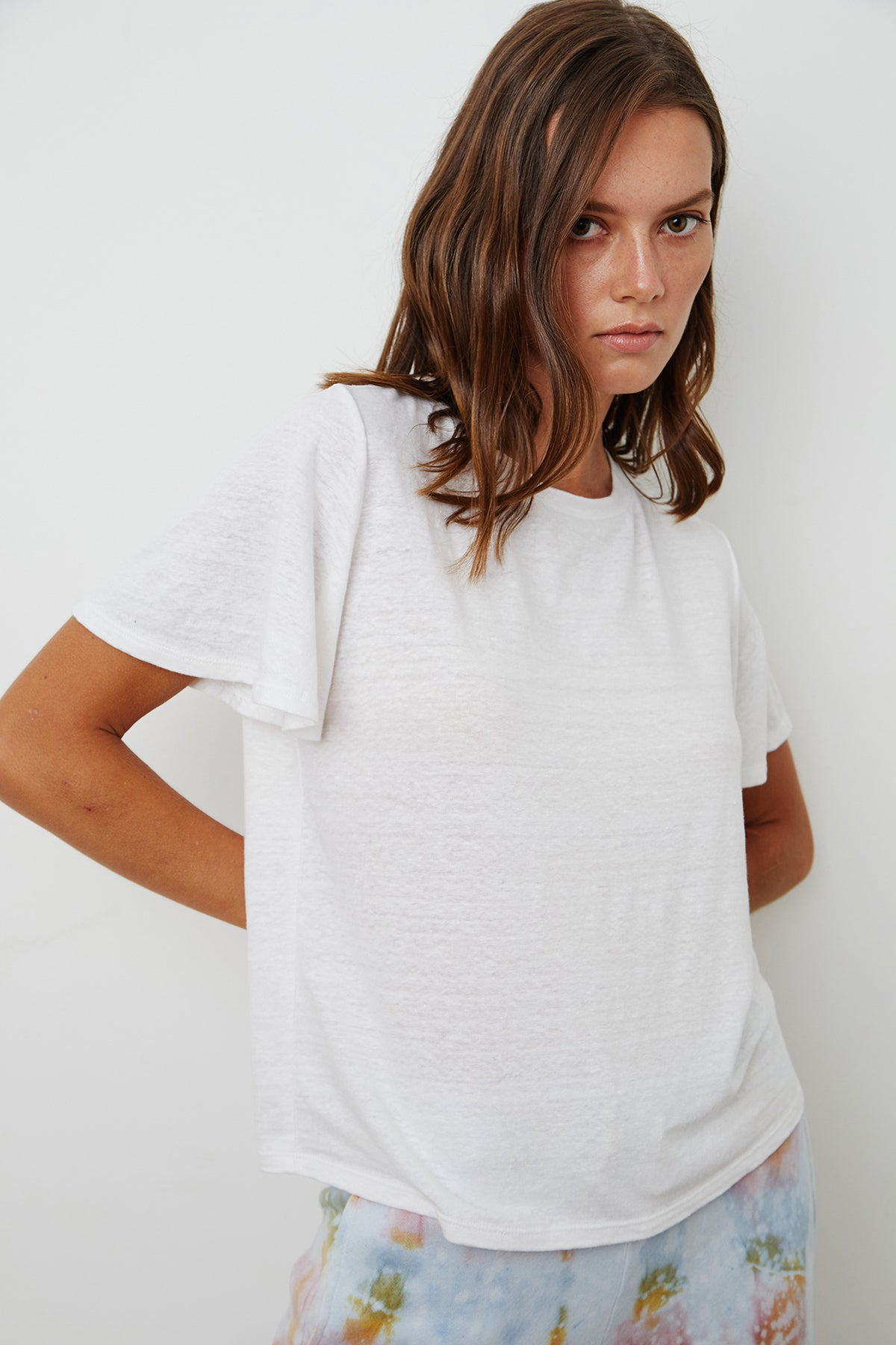 Annalise Tee White Front