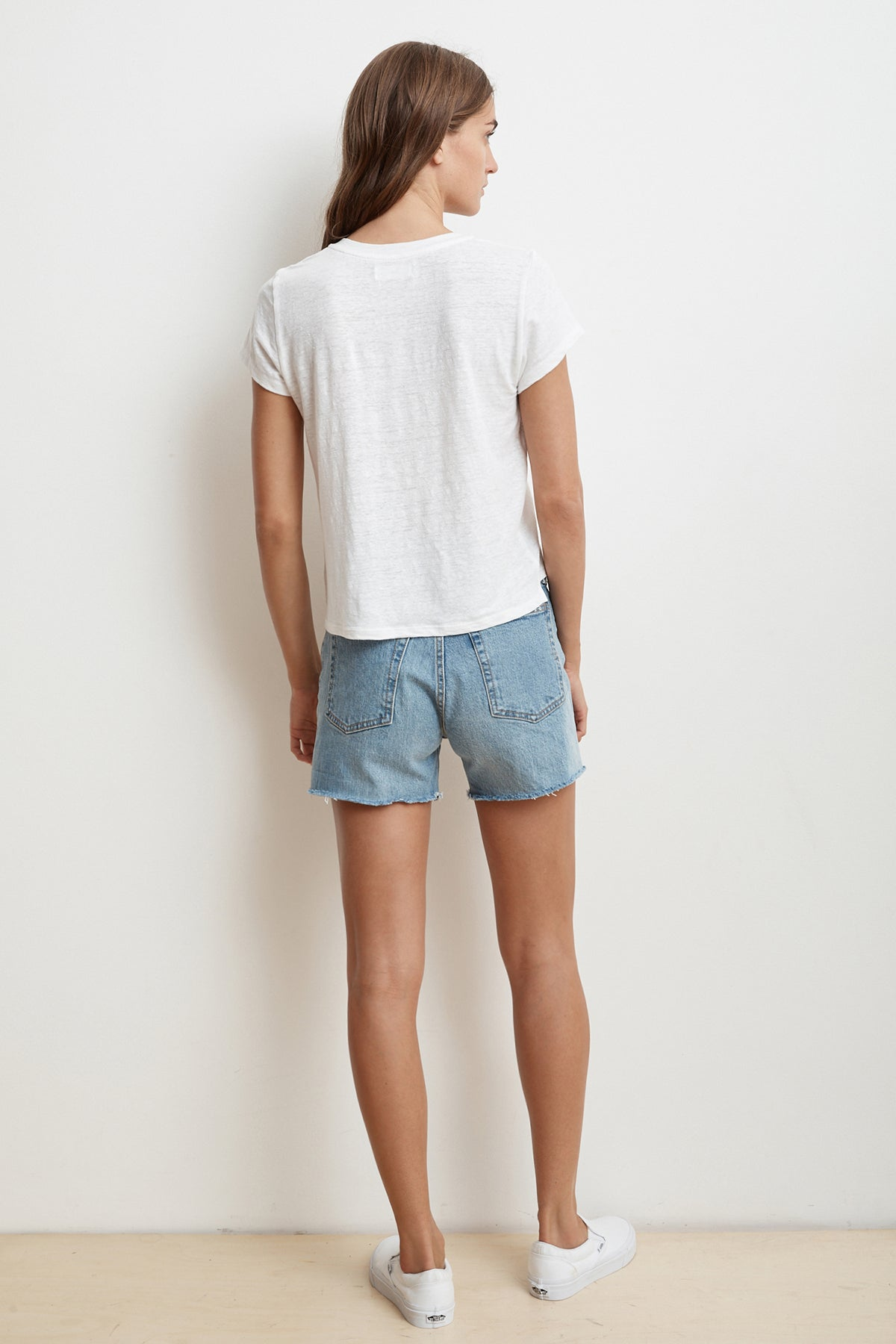 DILLON HIGH RISE DENIM SHORT