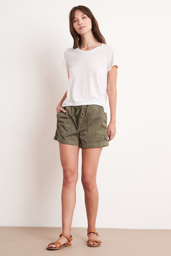 TENLEY DRAWSTRING SHORT