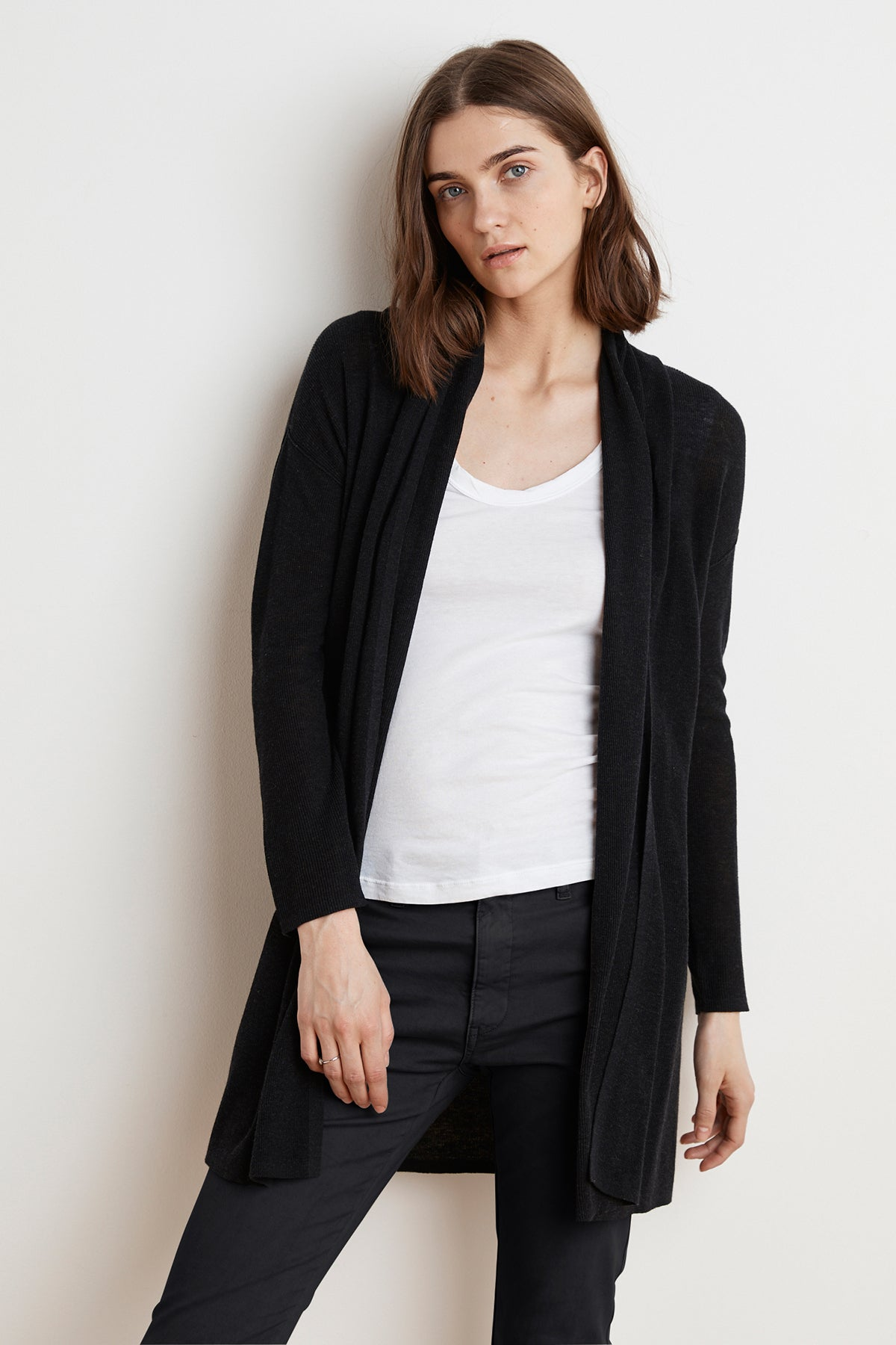 CHERIE LUX COTTON CARDIGAN