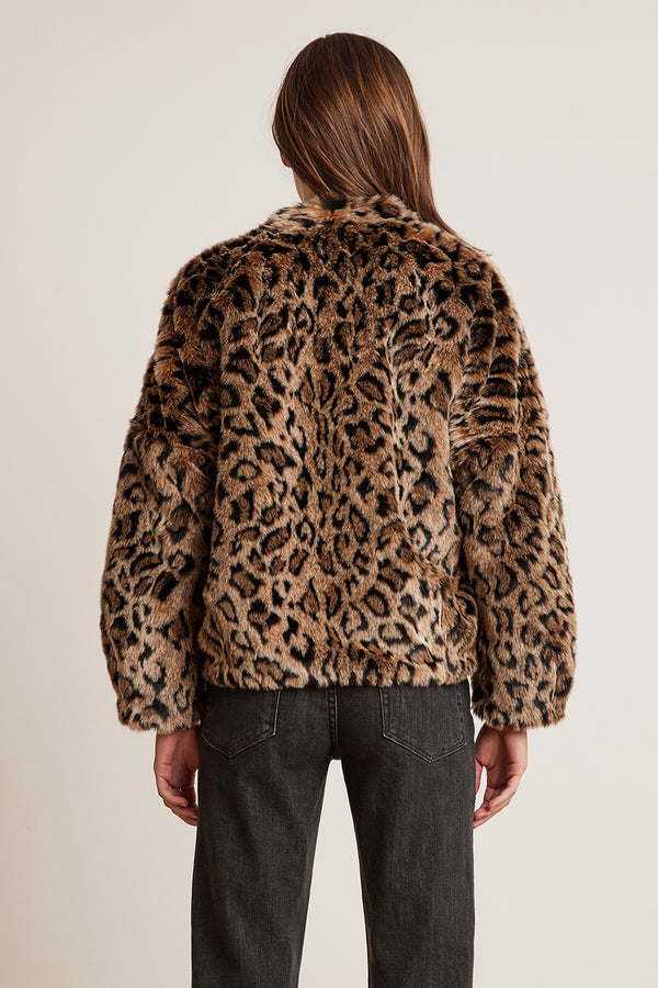 ANNE LUX FAUX FUR JACKET