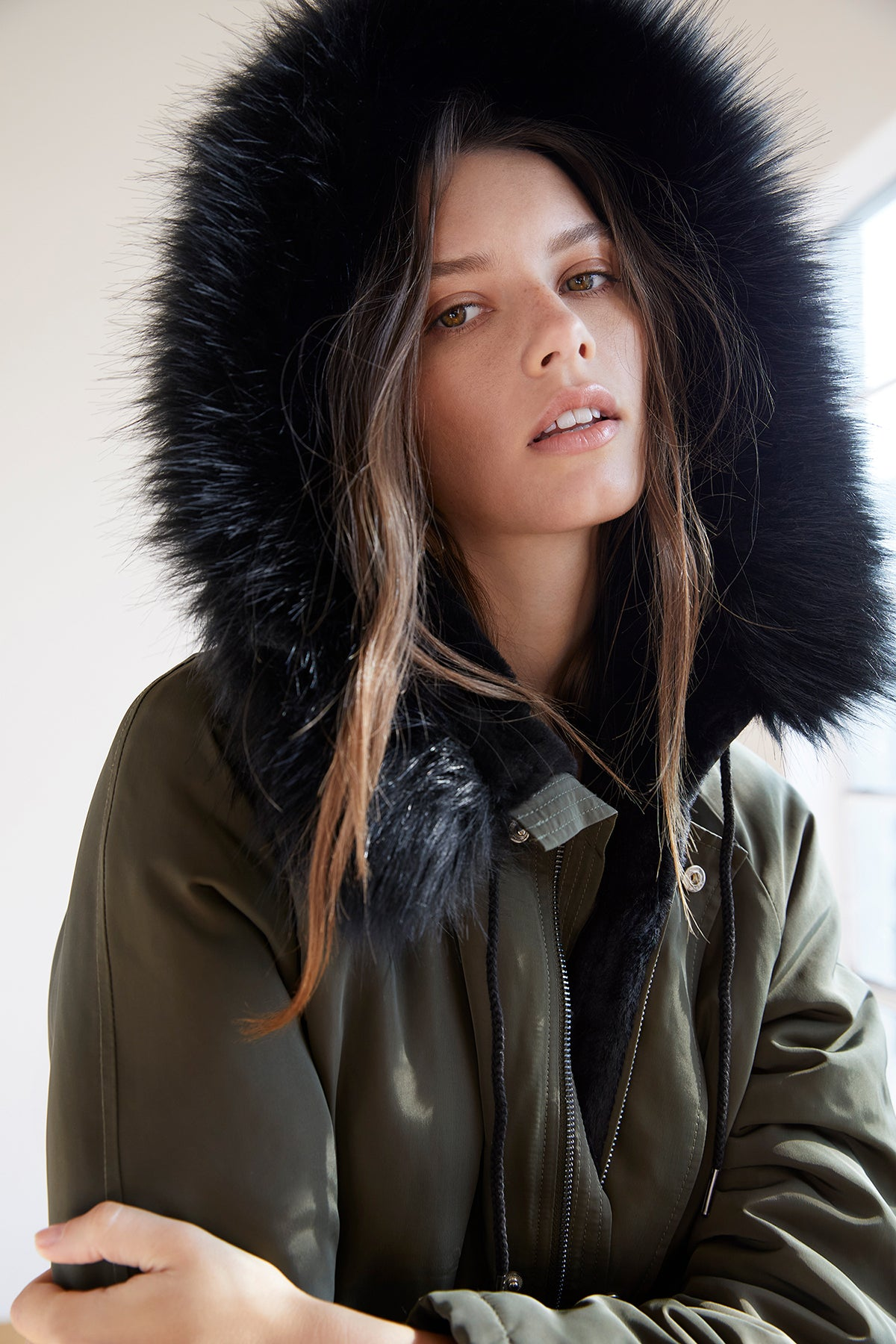 TIFFANY LUX FUR LINED PARKA