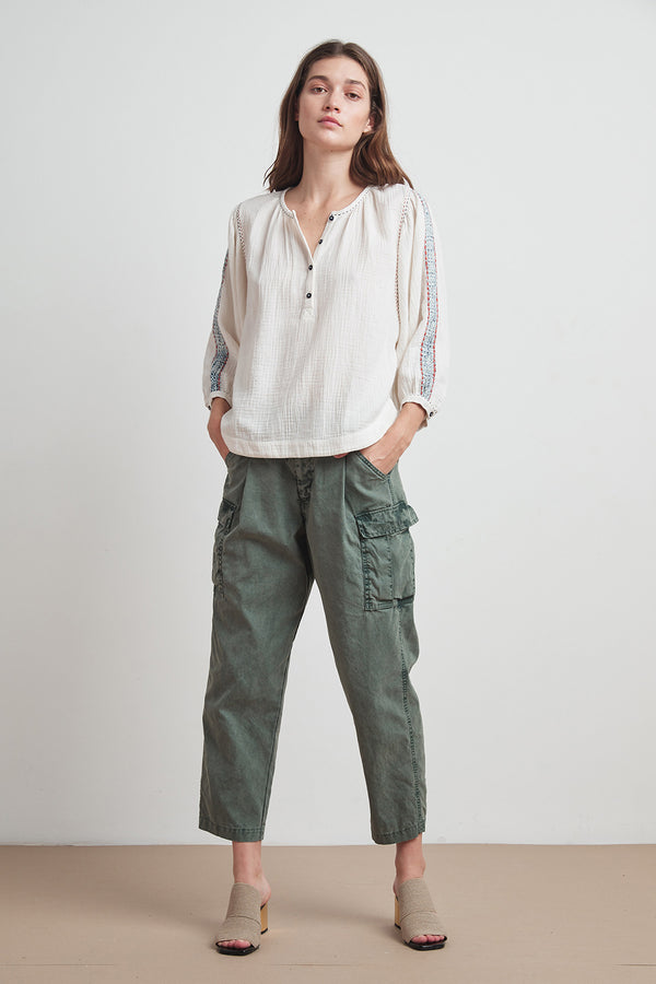BEV COTTON CANVAS CARGO PANT