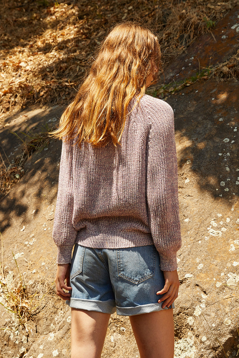 WILEY MARLED COTTON SWEATER