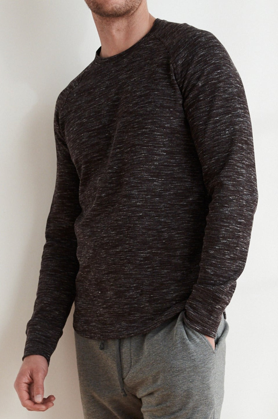 JEFF MARLED THERMAL RAGLAN SHIRT